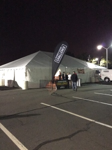 Runner's World Challenge Tent