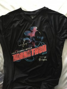 Disney Marathon shirt