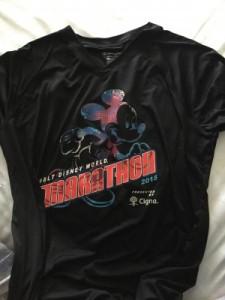 Disney Marathon shirt