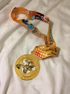 Disney Medal