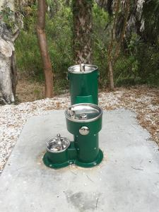 Sanibel water fountain