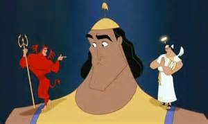 Kronk's shoulder devil
