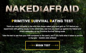 Naked And Afraid PSR Test