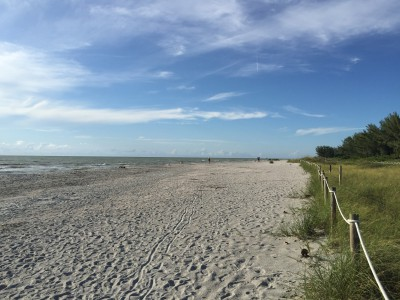deserted beach Captiva Island