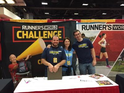Marine Corps Marathon Runner's World Challenge Booth