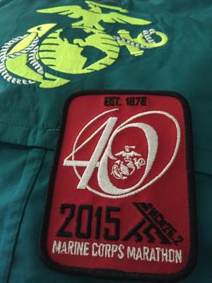 MCM jacket & patch