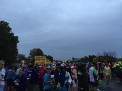 Marine Corps Marathon start line