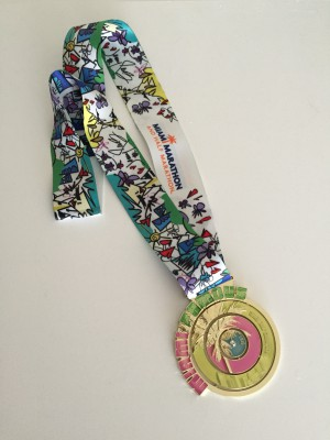 2016 Miami Half Marathon medal