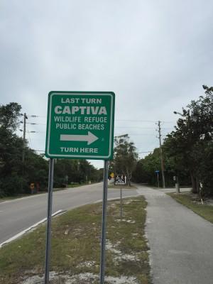 Captiva sign