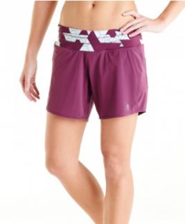 Oiselle Long Roga Shorts