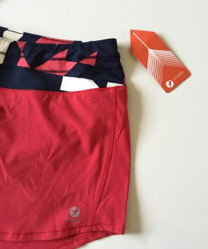 Oiselle Roga Shorts in Rio Red!